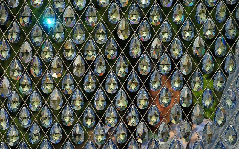 ozdoby z kryształu